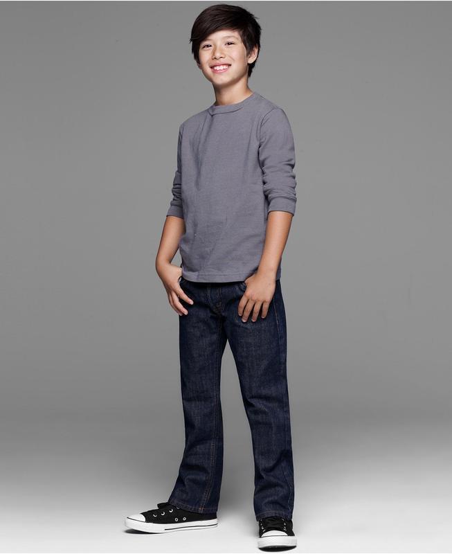 Классические джинсы на мальчика 8 ( 7-9 ) лет оригинал levis 5...