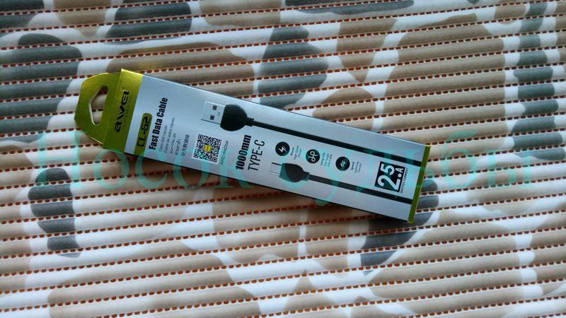 Качественный Кабель для зарядки Телефона USB - USB Type-C, AWEI C - Фото 7