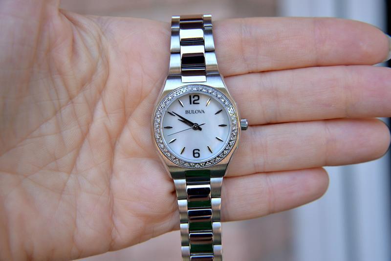 Женские часы с бриллиантами 46шт bulova подарок девушке - Фото 2