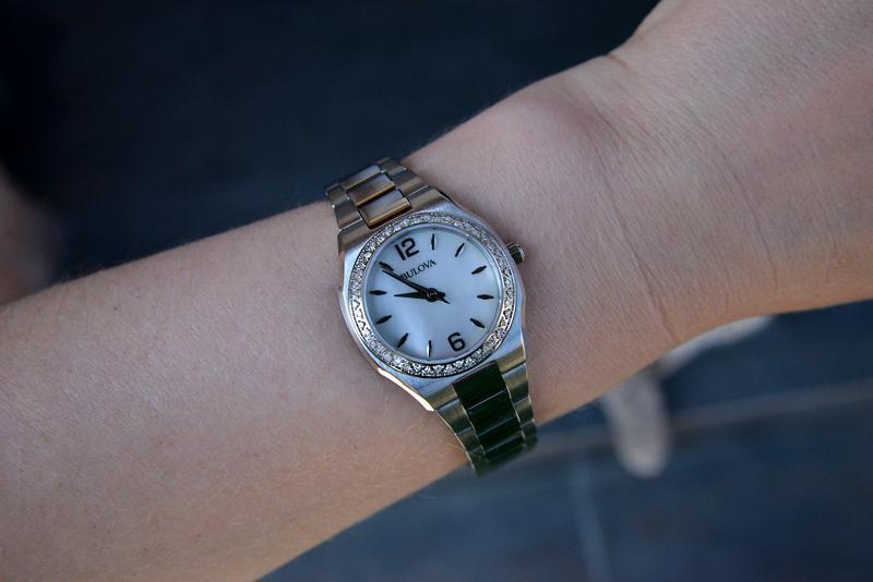 Женские часы с бриллиантами 46шт bulova подарок девушке - Фото 3