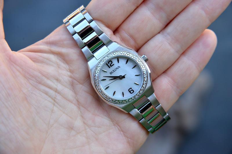 Женские часы с бриллиантами 46шт bulova подарок девушке - Фото 6