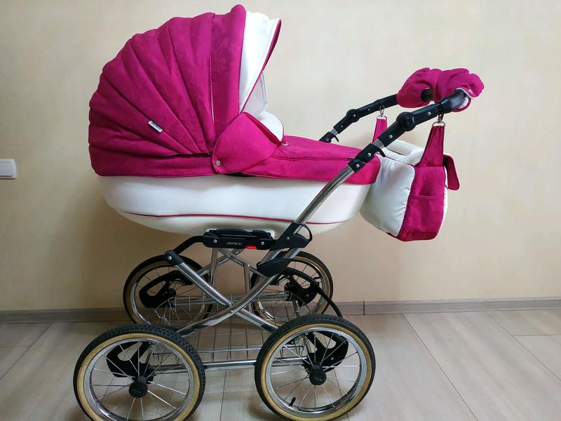 Детская универсальная коляска Adamex Katrina 2 в 1