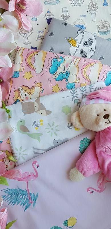 Бортик коса косичка защита простынь в детскую кроватку - Фото 14