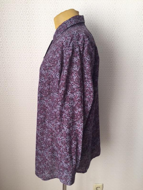 Блуза красивого цвета большого размера (укр прим 58-60-62) от ... - Фото 2