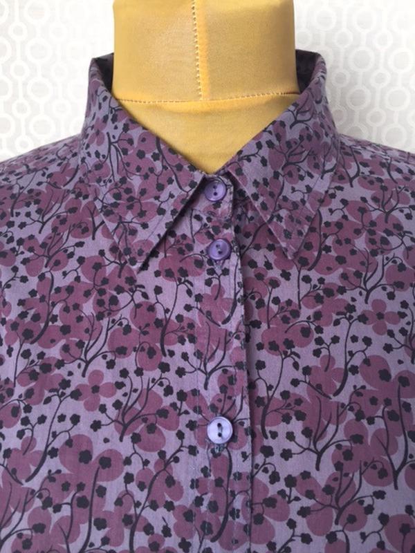 Блуза красивого цвета большого размера (укр прим 58-60-62) от ... - Фото 4