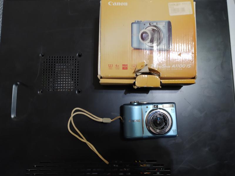 Фотоаппарат Canon PowerShot A1100 IS Silver - Фото 2