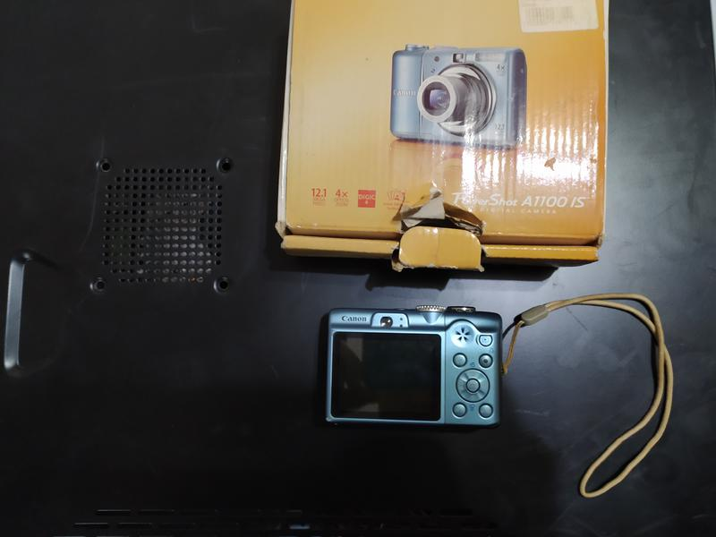 Фотоаппарат Canon PowerShot A1100 IS Silver - Фото 3