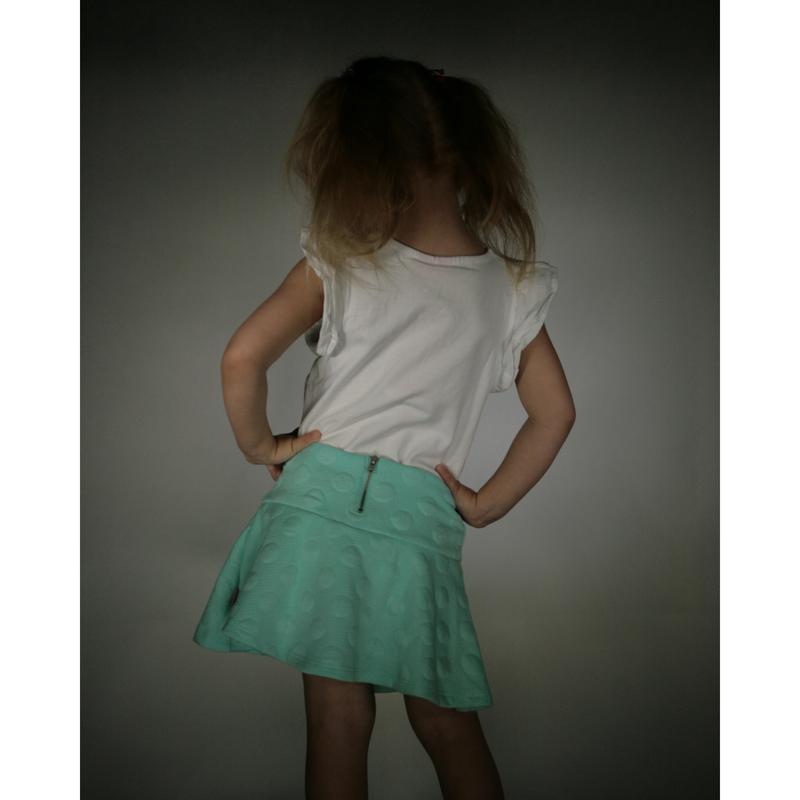 Мятная юбка для девочки lc waikiki / лс вайкики - Фото 2