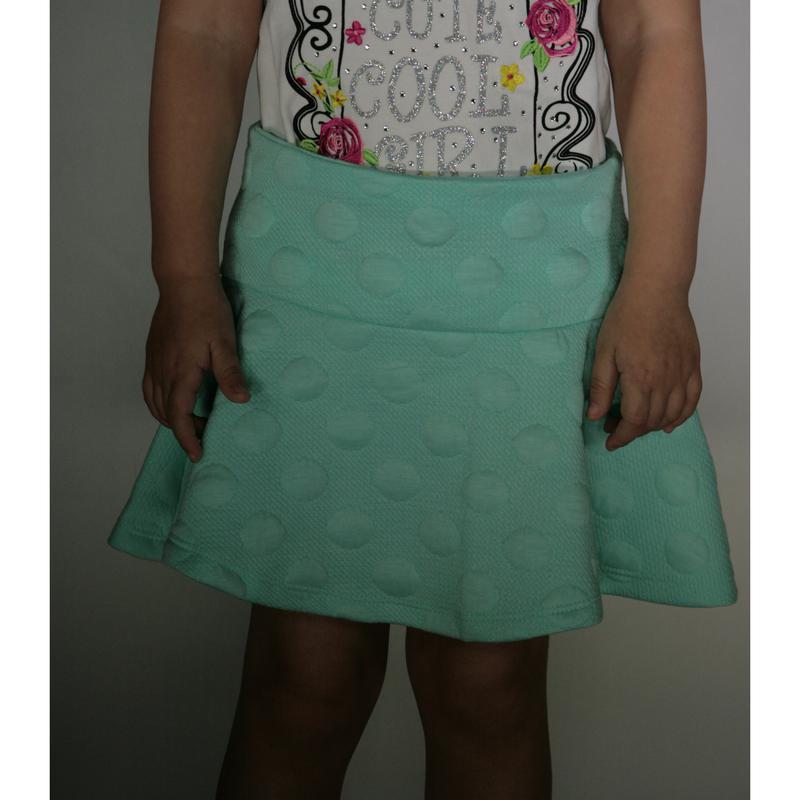Мятная юбка для девочки lc waikiki / лс вайкики - Фото 3