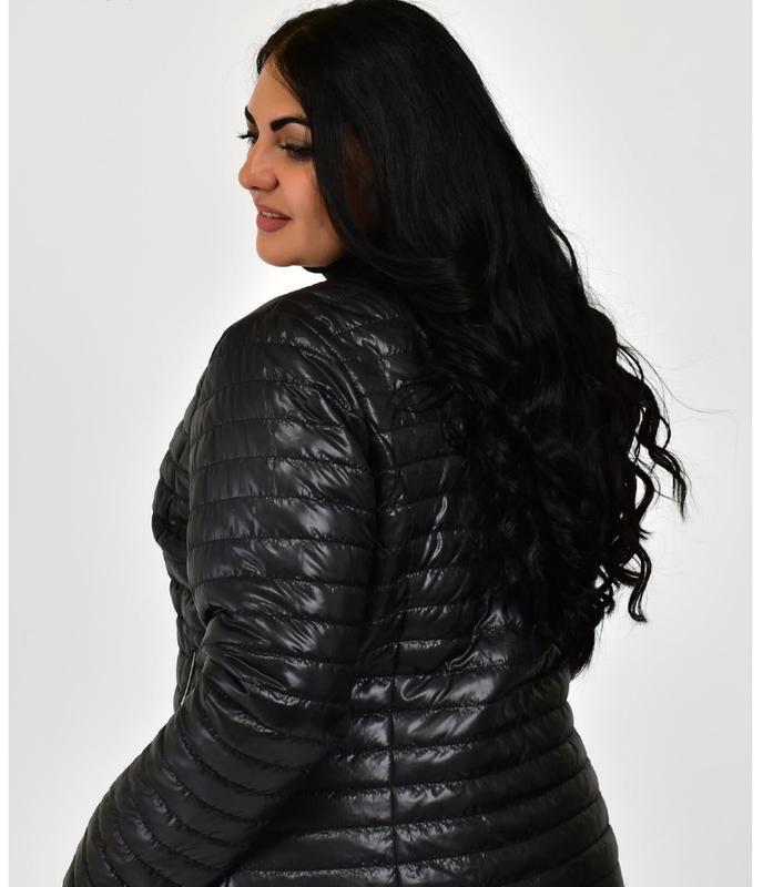 Куртка женская в стиле шанель - Фото 2