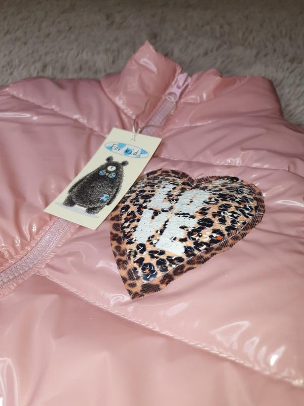 Куртка на девочку - Фото 2