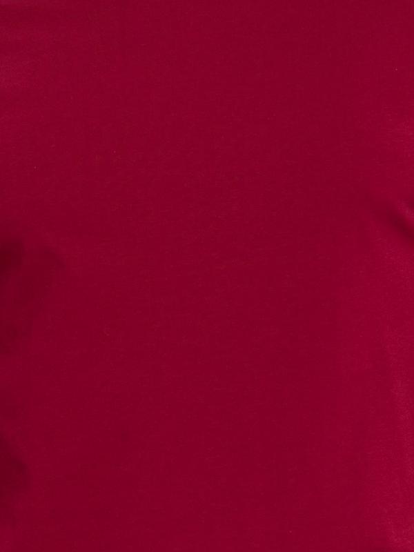 Мужская футболка бордовая lc waikiki / лс вайкики с круглым вы... - Фото 5