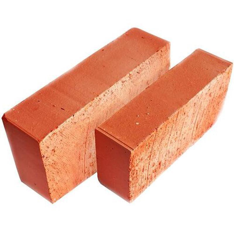 Кирпич красный рядовой полнотелый М100