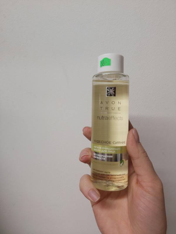 Гидрофильное масло очищение кожи и снятие макияжа avon true