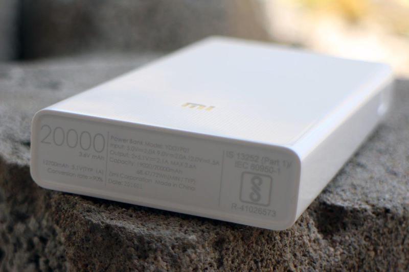 Power bank Xiaomi 20000mAh 2 USB мощный повербанк, портативная - Фото 6