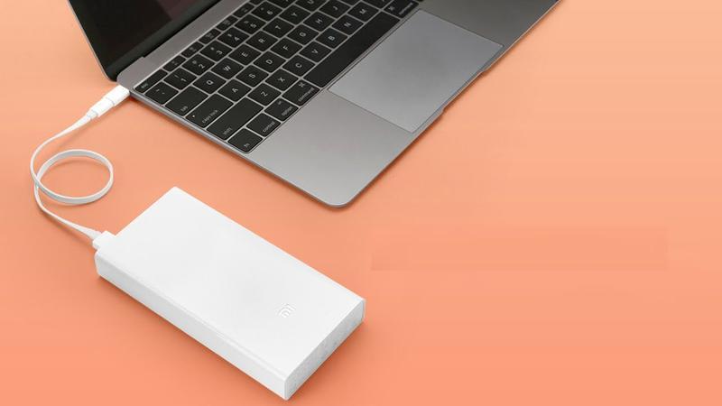 Power bank Xiaomi 20000mAh 2 USB мощный повербанк, портативная - Фото 7
