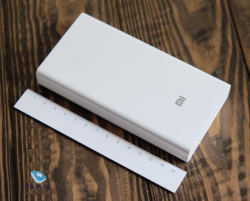 Power bank Xiaomi 20000mAh 2 USB мощный повербанк, портативная