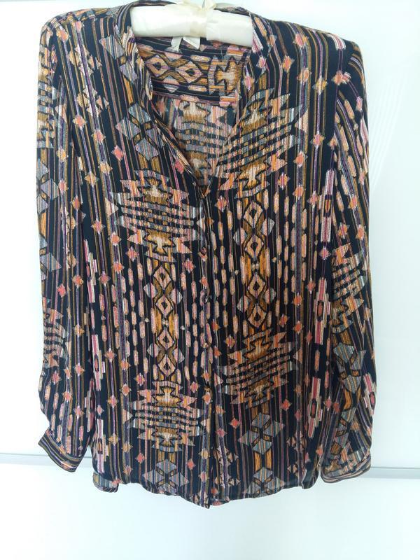 Шифоновая блуза от h&m