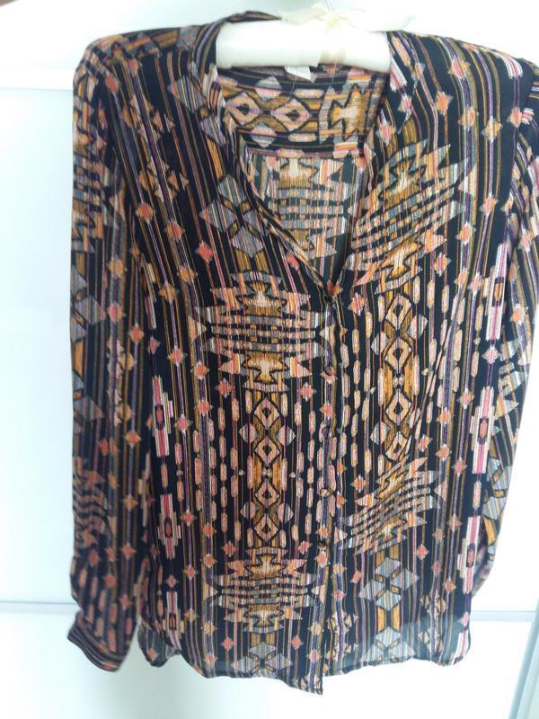 Шифоновая блуза от h&m - Фото 3