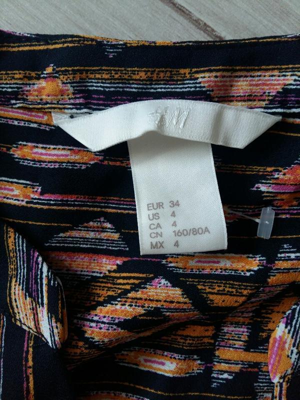 Шифоновая блуза от h&m - Фото 5