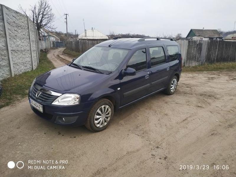Dacia logan mcv 7 мест