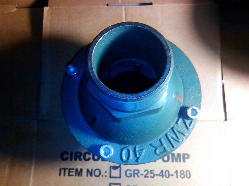 Клапан обратный 40 мм Китай