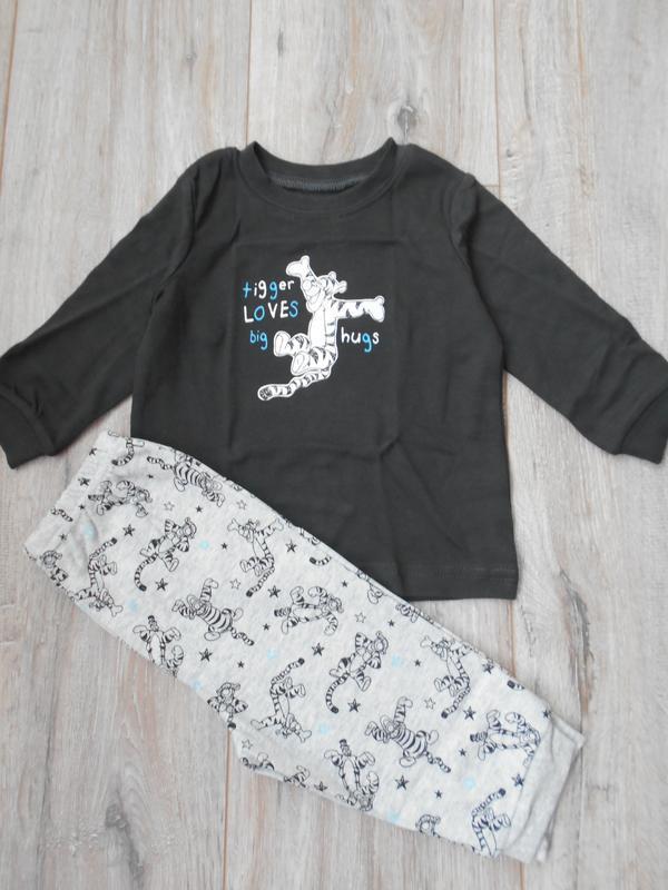 Хлопковая пижама george на 6-9 мес