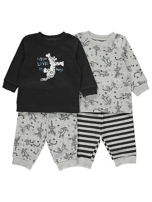 Хлопковая пижама george на 6-9 мес - Фото 2