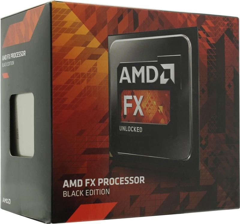 Процессор AMD FX-4350 Black Edition