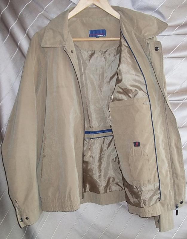 Куртка ветровка мужская. 52 Цвет песочный - Фото 2