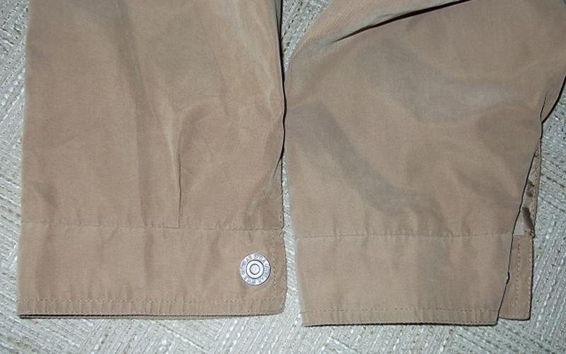 Куртка ветровка мужская. 52 Цвет песочный - Фото 7