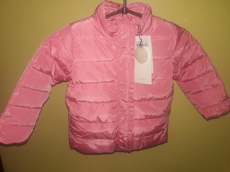Куртка для девочки name it