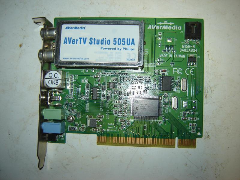 Плата AVerMedia M15H-B 0405ABS4 (AVerTV Studio 505UA)