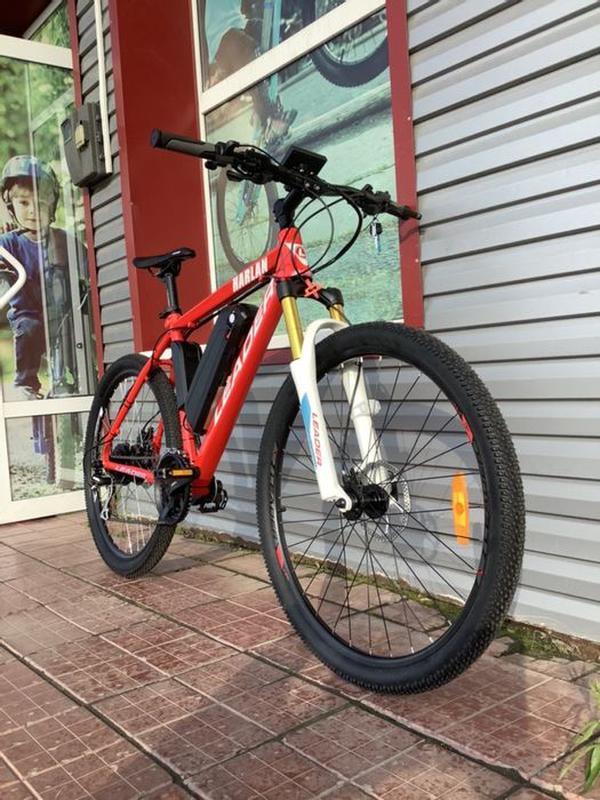 Электровелосипед. Аккумулятор для велосипеда. Мотор колесо. Ко...