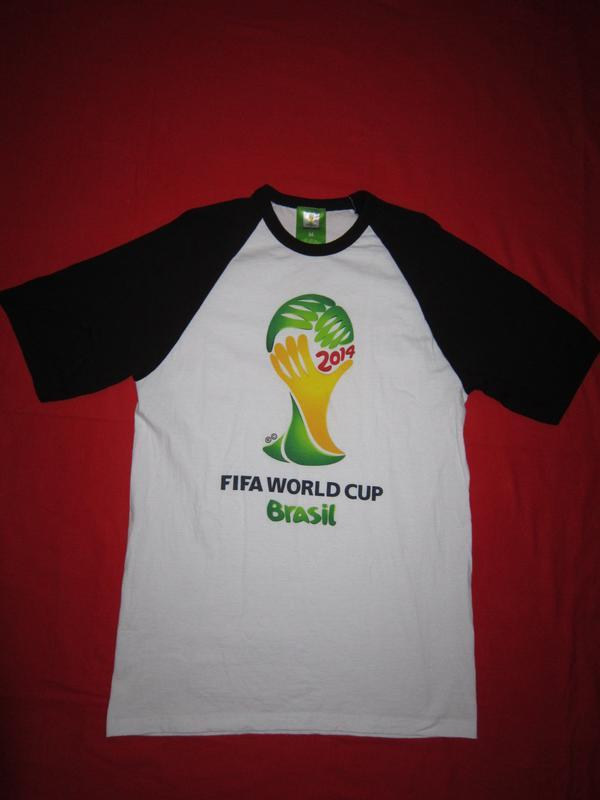 Футболка реглан fifa world cup brasil 2014