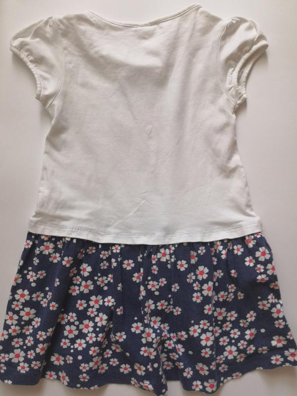 Платье disney на 4-5 лет, рост 110 см - Фото 2