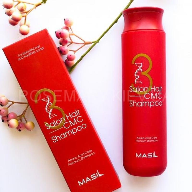 Интенсивно восстанавливающий шампунь с аминокислотами masil 3 ...