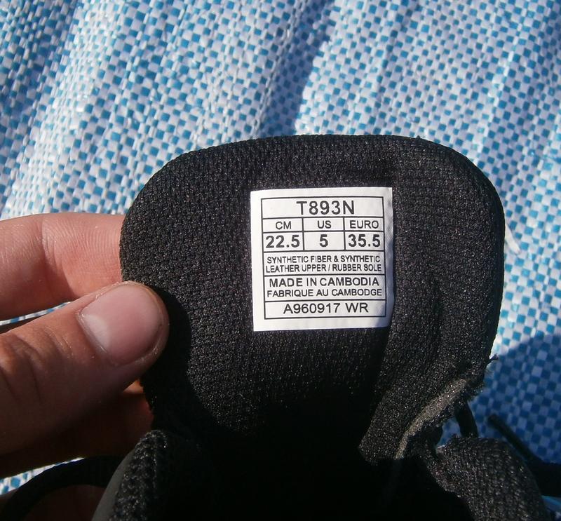 Кросівки asics stormer 2 t893n black оригінал - Фото 6