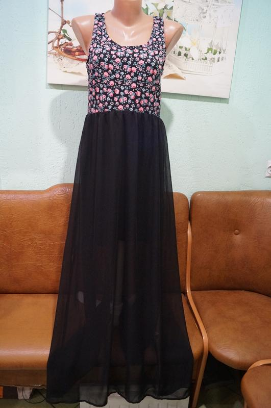 Платье р.42,бренд divided by h&m - Фото 4