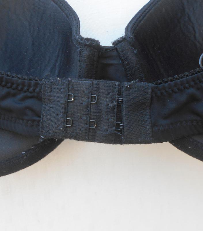 Черный сексуальный эротический бюстгальтер  80b - Фото 5