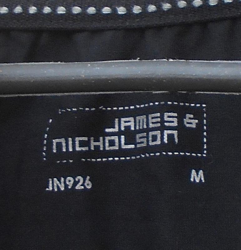 Черная  хлопковая  футболка с надписью - Фото 4