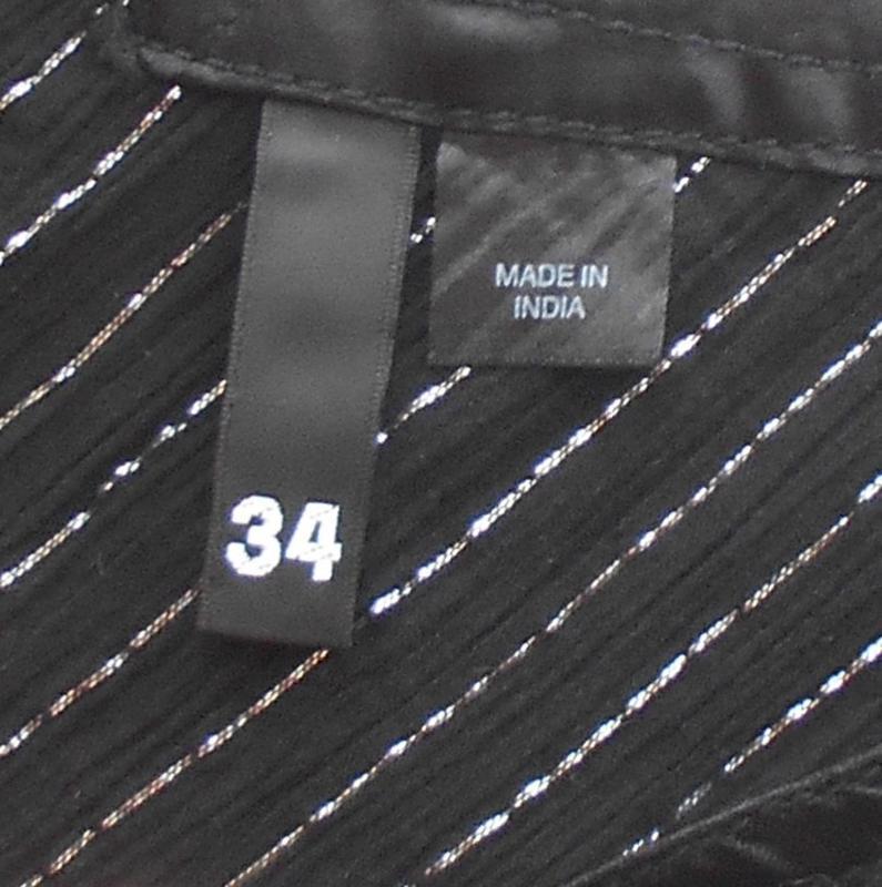 Черное свободное легкое летнее   платье сарафан из хлопка - Фото 3
