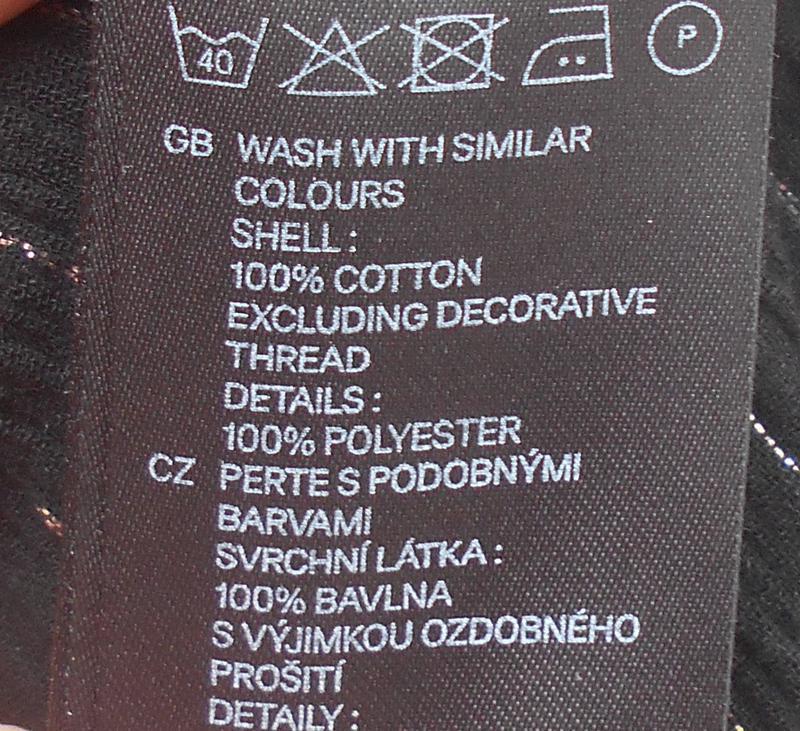 Черное свободное легкое летнее   платье сарафан из хлопка - Фото 4