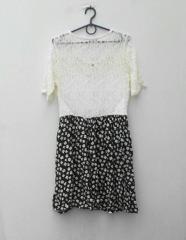 Нарядное кружевное летнее платье из вискозы pins and needles - Фото 2
