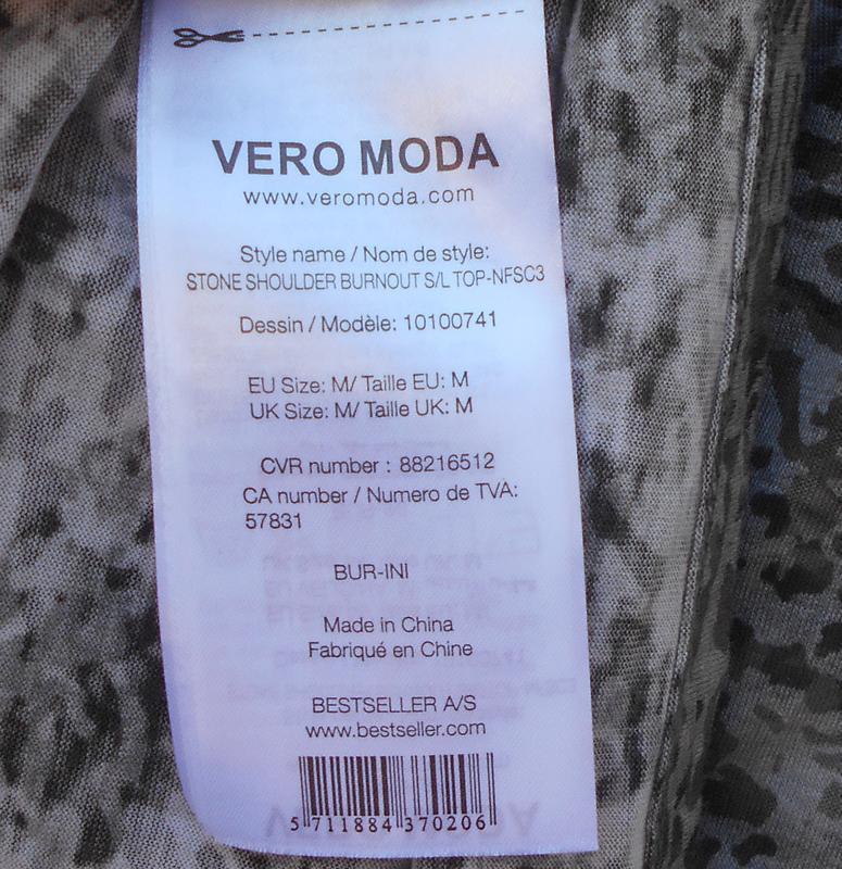 Летняя трикотажная удлиненная блузка - Фото 3