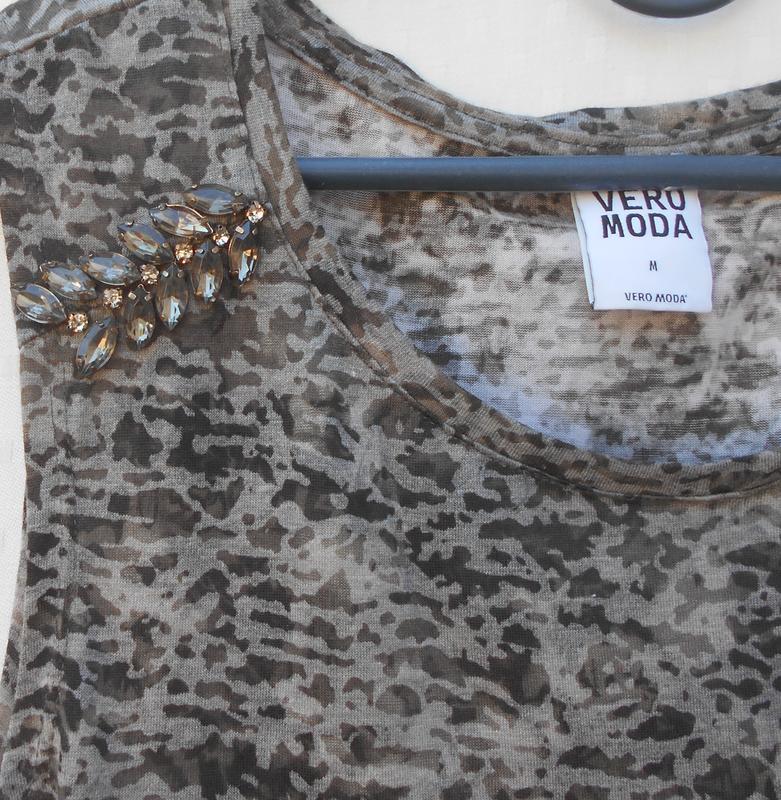 Летняя трикотажная удлиненная блузка - Фото 5