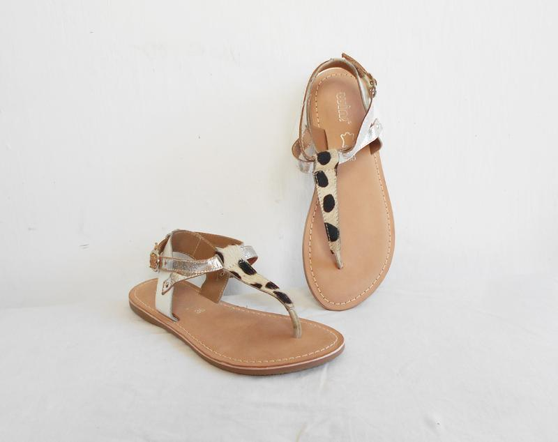 Кожаные босоножки сандалии wini 🌿 - Фото 4
