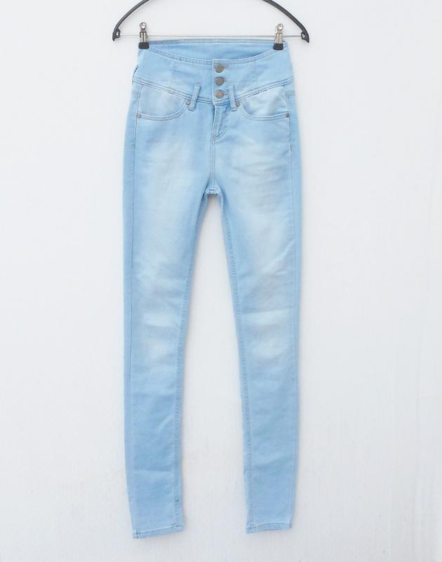 Высокие джинсы скинни b young