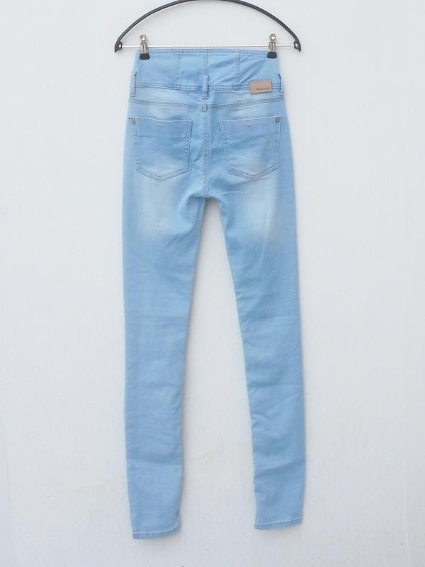 Высокие джинсы скинни b young - Фото 3