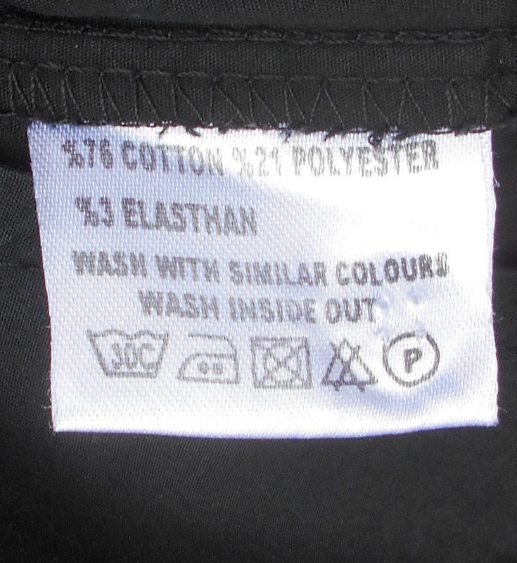 Черная классическая приталенная рубашка с воротником с длинным... - Фото 4